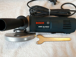 Bosch GWS 10 125 C Winkelschleifer 1020 Watt