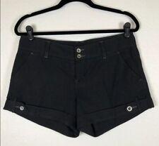 Free People Charcoal Grey Wool Shorts Dress Shorts 0 $98 MSRP