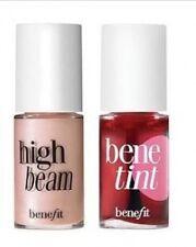 Benefit BENETINT Rose Tinted Lip & Cheek Stain & HIGH BEAM HIGHLIGHTER 4ml MINIS