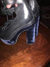 Opening Ceremony High Heels Platform Leather Woman ShoesSize 36