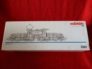 MARKLIN CROCODLE ELECTRIC LOCO SERIE Ce 6/8 No 3352 BROWN MINT IN BOX TEST RUN
