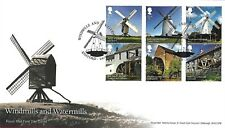GB 2017 WINDMILLS & WATERMILLS ROYAL MAIL FDC WITH PICTORIAL POSTMARK