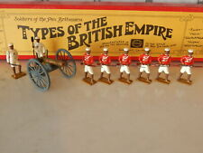 Wm Hocker Bengal Sepoy Mutineers with Cannon 8 figures Types of the Brit Empire