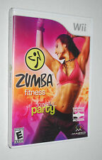 Wii Zumba Fitness Join The Party Game Rated E Workout Exercise Dancing Majesco