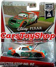 Disney Cars Sputter Stop No. 92 Diecast Pixar Piston Cup Racer Toy Race