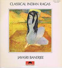 LP CLASSICAL INDIAN RAGAS JAYASRI BANERJEE
