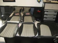 1997 2002 Camaro Z28 seat covers & doorpanel inserts in Ebony color W/Pewter NEW