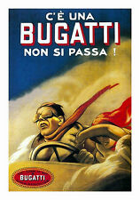Bugatti 1922 Marcello Dudovich Italian Vintage Poster Two And A Half Men 24X36