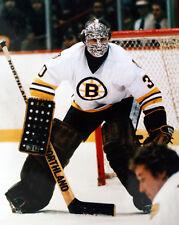 Gerry Cheevers Boston Bruins 8x10 Photo HOF 85