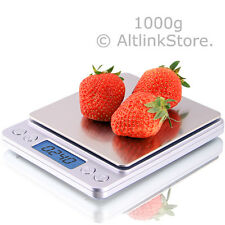 SAGA DIGITAL KITCHEN SCALE 1000g x 0.1g DIET FOOD COIN JEWELRY POCKET SIZE HERB