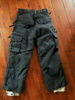 Turbine Kids Boys Snowboard Ski Snow Pants Sz S (10 Years) Excellent