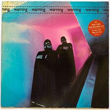WARNING - LP Schallplatte 1982 - Dark Wave Electro GER selten rar Sammlerstück