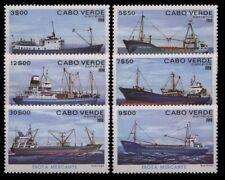 Kap Verde, Schiffe, MiNr. 431-436, postfrisch / MNH - 690441