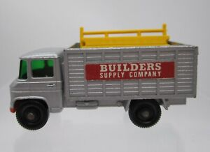 Vtg 1969 Matchbox #11 Scaffolding Truck Builders Supply Co. Regular Wheels Loose
