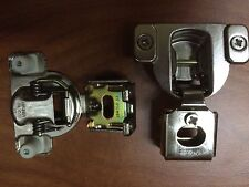 """BLUM COMPACT 38M3580.06 -ONE PIECE HINGE 3/8"""" Overlay Nickle Plated (Lot of 50)"""
