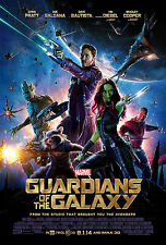 "Guardians of the Galaxy (2014) Movie Poster New 24""x36"" Pratt Cooper Diesel"