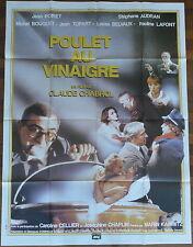 Ancienne Affiche Cinéma POULET AU VINAIGRE. Cinema Movie Poster.