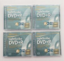 Memorex Lightscribe DVD+R 4.7GB 120 Minute 8x - Lot of 4