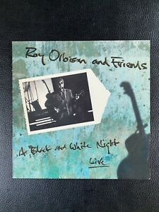 Roy Orbison And Friends - A Black And White Night Live  Virgin – 91295-1 US1989