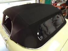 Jaguar E Type Series 1/2 - New Mohair Hood With Plastic Rear Screen