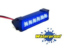 Gear Head RC 1/10 Scale Six Shooter Water Proof LED Light Bar - Blue GEA1173