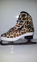 Roces Glamour Gepard Eiskunstlaufschlittschuhe Gr.37 Damen Schlittschuh braun