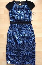 BNWT❤️Lipsy Vip❤️Size 6 Navy Blue All Over Sequin Dress Cocktail Wedding £130 XS