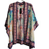 Tolani Collection Raelyn Open Front Kimono Floral Multicolor Print Size Large