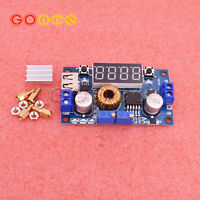 5A CC CV LED Drive Lithium charger Power Step-down Module W/ USB Voltmeter