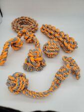 Dog Toys - 4 Large Dog Rope Toys for Medium and Large Dogs
