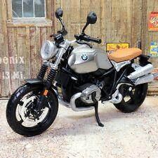 BMW R NineT Scrambler 1:12 Escala Modelo Juguete de Metal Fundido a Troquel Moto Motocicleta