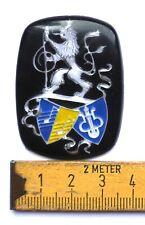 Weltmeister Emblem Logo Akkordeon Weltmeister Silber ORIGINAL DDR /P22.9/1