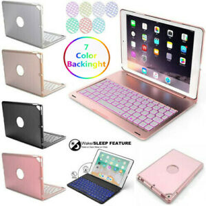 Smart Case With Bluetooth Keyboard Cover For iPad 7/8/9th 6th&5th Gen Air 1/2/3