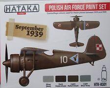 HATAKA htk-as01 precoce ww2 Polish Air Force 4 Set vernice a colori