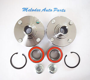 Front Left & Right Wheel Hub & Wheel Bearing Set For  FORD  FOCUS  2000-2011