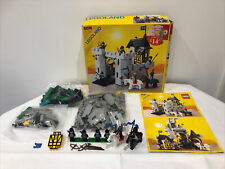 LEGO 6074 Black Falcon's Fortress Knight Castle With Box and Instructions