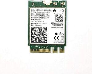 Intel Wireless Card AC 926022302x2+BT Gigabit vPro Dual Band Network Accessory
