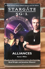 Stargate Sg-1 : Alliances Karen Miller Paperback Book #8