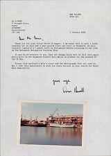 HMS Wilton. 1993 Letter & Photograph 1975 (Navy Days) LL24