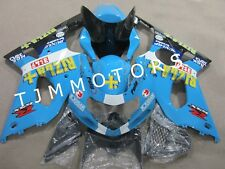 For SUZUKI GSXR1000 2000-2002 ABS Injection Mold Bodywork Fairing Kit Blue Rizla