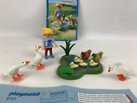 Playmobil Rare Country Ducks and Geese Pond 6141 Farmyard Duck Goose Animals F