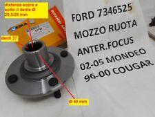 FOCUS 98-04 Fusion 2 anteriori 2 RUOTA POSTERIORE CUSCINETTI x4