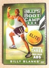 BILLY BLANKS Billy's Boot Camp: Mission Three: Rock Solid ABS (DVD,2006) Reg ALL