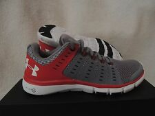 NIB MENS UNDER ARMOUR MICRO G LIMITLESS TR 2 SNEAKERS~RUNNING SHOES~SIZE 8~grey