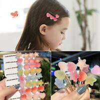 1 Pair Gummy Style Hairpin Hair Clip Barrettes Hair Accessories For Women Girls