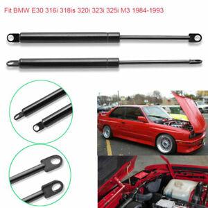 For BMW 3Series E30 1984-1993 Car Auto Front Bonnet Hood Gas Lift Support Struts