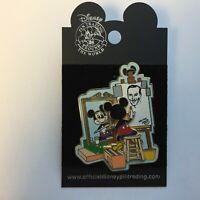 WDW Norman Rockwell Spoof - Mickey Mouse Self Portrait Disney Pin 6318