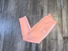NWT Adidas Pink White Track Pant Sweatpants Womens Small