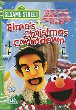 ELMO'S CHRISTMAS COUNTDOWN DVD 123 SESAME STREET