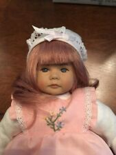 "Vintage Baby Doll Robby by Heidi Ott 9"" Pink Hair"